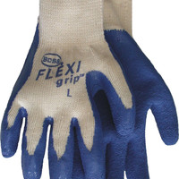 Glove Knit/Latex Lg
