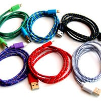 Woven Fabric Lightning Cable