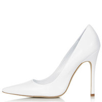 GALLOP Court Shoes - White