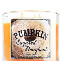 3-Wick Candle Pumpkin Sugared Doughnut