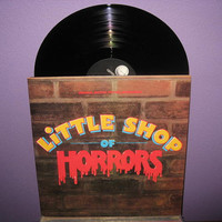 Vinyl Record Album Little Shop of Horrors Film by JustCoolRecords