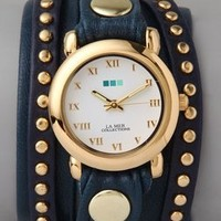 Gift Idea: La Mer Collections Bali Stud Wrap Watch - FREE SHIPPING