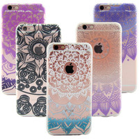 2017 New Lace iPhone 7 7Plus & iPhone se 5s 6 6 Plus Case Cover +Gift Box-87
