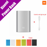 Original Xiaomi Mi Power Bank 2 10000mAh External Battery Portable Mobile Backup Bank MI Charger for Android iPhones 7 plus iPad