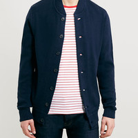 Selected Homme Blue Heavyweight Cardigan - Tailoring Brands - Brands
