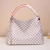 Beauty Ticks Louis Vuitton Lv Damier Canvas Artsy Handbag Tote Bag #831