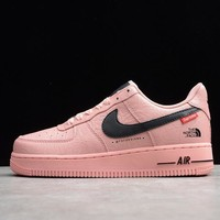 Nike Air Force 1 Men Women Sport Basketball Shoes Sneaker Shoes Pink SIZE 36-45