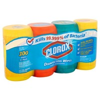 Clorox Disinfecting Wipes Value Pack, Scented, 300 Count - Walmart.com