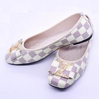 Louis Vuitton Women Fashion Flats Shoes Sandals Shoes