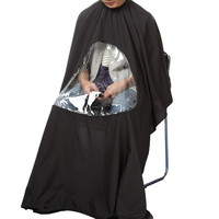 Hot Black Professional Salon Barber cape Hairdresser Hair Cutting Gown cape for barber Apron Waterproof Cloth