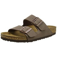 Birkenstock Women's Arizona  Birko-Flo Mocha Sandals