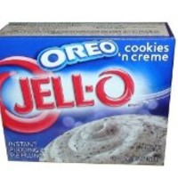Jell-O Oreo Cookies 'n Cream, Instant Pudding & Pie Filling, 4.2 oz