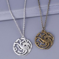 Limited Edition Game of Thrones Targaryen Dragon Necklace