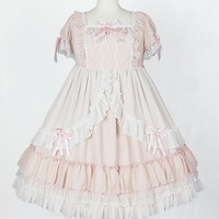 Milky Sugar One Piece - Pink [172O06-030151-pk] - $312.00 : Angelic Pretty USA