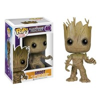 Kirin Hobby : POP! Marvel Guardians of the Galaxy: Groot Vinyl Bobble Figure Funko 849803037932