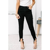 Stella Black High Rise Skinny Jeans