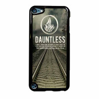 Divergent Dauntless The Brave Quotes iPod Touch 5th Generation Case