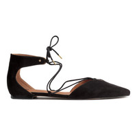 H&M Flats with Lacing $29.99
