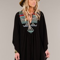 Palm Desert Poncho Dress