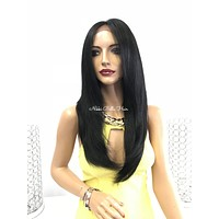 Black lace front wig - Tami