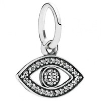 Pandora Symbol of Insight Evil Eye Charm