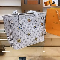 LV Neverfull 2020 New Shopping Bag Handbag Messenger Bag