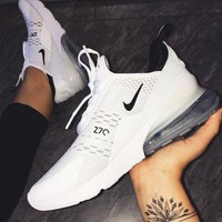 NIKE AIR MAX 270 Hot Sale Fashion Casual Sports Sneaker Shoes