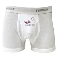 America Unicorn Boxer Briefs