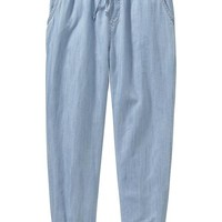 Old Navy Girls Chambray Joggers