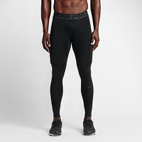 The Nike Pro Hyperwarm Compression Men's Training Tights.