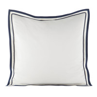 Milano Sateen European Sham, Plain - Peacock Alley