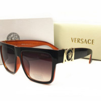 Versace Women Fashion Popular Summer Sun Shades Eyeglasses Glasses Sunglasses