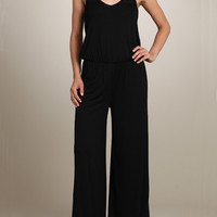 Must Have Basic Black Jumpsuit