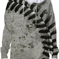 Baseball hoodie created by Christy Leigh | Print All Over Me