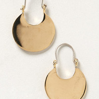 Pressed Crescent Earrings