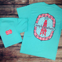 SIMPLY SOUTHERN - OIL TOWER TEE