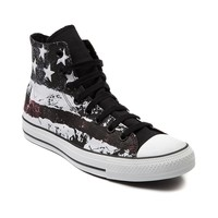 Womens Converse All Star Hi American Flag Athletic Shoe, White | Journeys Shoes