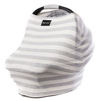 Milk Snob Cover CREAM AND GREY STRIPES PRE-SALE