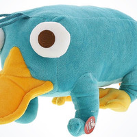 """Disney Parks 12"""" Talking Perry Plush New With Tags"""