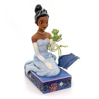 Jim Shore RESILIENT & ROMANTIC Polyresin Tiana With Frog 4054276