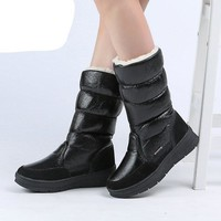 Plush Warm Winter Women Snow Boots