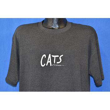80s Cats Broadway Musical Eyes Logo t t-shirt Extra Large