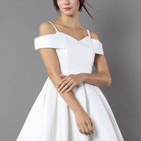 Rest Your Grace Sweetheart White Dress