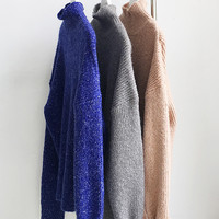 Essential Mohair High-neck Sweater