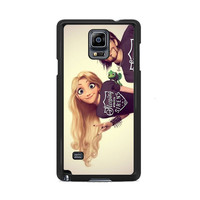 Tangled Rapunzel Punk Love Sleeping with Sirens Samsung Galaxy Note 3|4  Cases