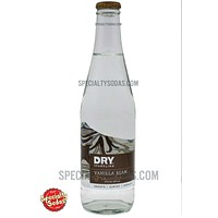 Dry Vanilla Bean Soda 12oz Glass Bottle