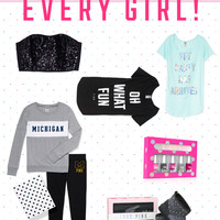 Check Out What's New in Clothing & Accessories at PINK