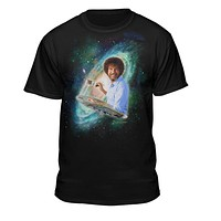 Bob Ross The Joy of Painting Galaxy T-shirts