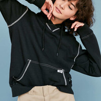 Dickies X UO Contrast-Stitch Hoodie Sweatshirt - Urban Outfitters