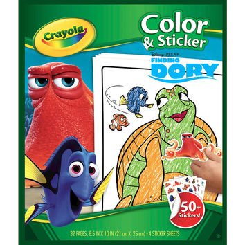 Disney Pixar Finding Dory Color and Sticker